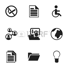 icon bureau set of 12 editable bureau icons includes symbols such as office
