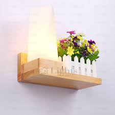 Wooden Wall Sconce Wood Wall Sconce For Decorating House