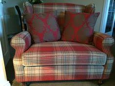 Next Armchairs Sherlock Chair 450 And Footstool 199 Seen In Stirling Red