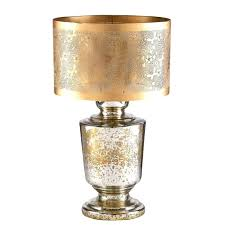 clear glass lamp with burlap shade fillable glass lamp with burlap