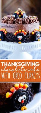 thanksgiving oreo cake something swanky