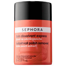 instant nail polish remover sephora collection sephora