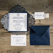 navy blue wedding invitations blue wedding invitations cheap at wedding invites part 2