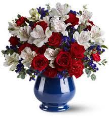 white and blue floral arrangements patriotic flower arrangements white blue flowers memorial