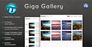 wordpress templates free download themes download giga gallery