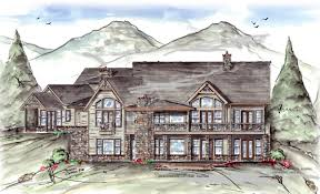 Cottage Plan by Jackson Hole Cottage Rustic Floor Plans Luxury Plans