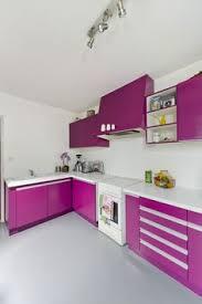v33 meuble cuisine cocina de color negro y rosa sincro kitchens cocinas despachos