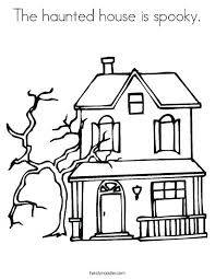 printable spooky house haunted mansion coloring pages easy haunted house coloring pages