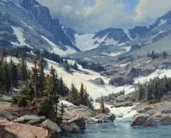 Mountain Landscape Paintings by Best 20 Western Landscape Ideas On Pinterest Landscape