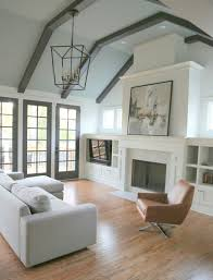 the solution to the dated brick fireplace that even your husband