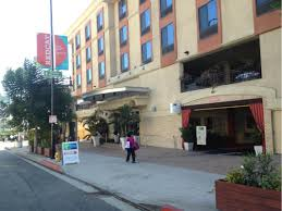 Hollywood Walk Of Fame Map Holiday Inn Express Hollywood Walk Of Fame Parking In Los