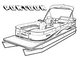pontoon boats printable coloring pages for kids 2014 coloring point