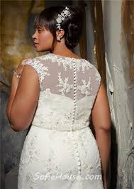 plus size wedding dresses with sleeves or jackets modest mermaid lace beaded plus size wedding dress with