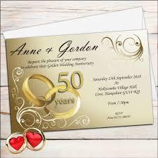 sle wedding announcements best of golden wedding anniversary announcement wording