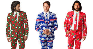 ugly christmas sweaters turned into stylish suits bored panda