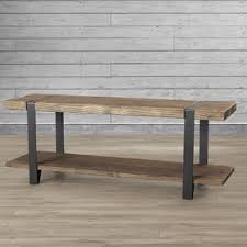 Wood Bench With Storage Entryway Benches Birch Lane