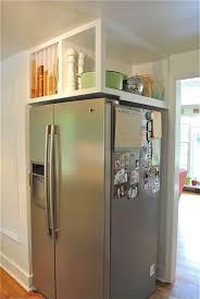 Top Of Fridge Storage   the 21 best small kitchen ideas of all time future fridge storage