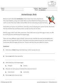 primaryleap co uk animal groups birds worksheet