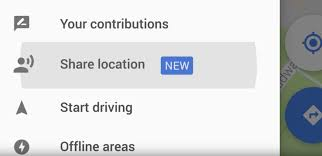 Google Maps Driving Google Maps Now Lets You Share Your Location With Your Friends