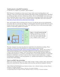 teaching physics using phet simulations pdf download available