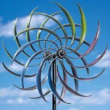 rainbow kinetic wind spinner yard garden decor windmill