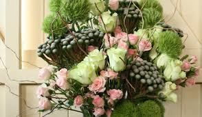branching out floral vase arrangement spider flower