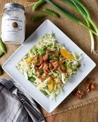 napa salad napa cabbage citrus salad with coconut dressing