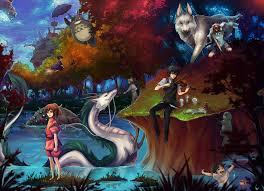ghibli miyazaki tribute by unodu on deviantart