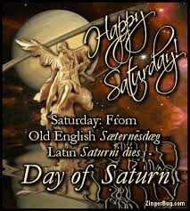 Saturn Meme - happy saturday day of saturn glitter graphic greeting comment