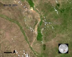 The Shire Map Flooding Of The Shire River Lp Daac Nasa Land Data Products