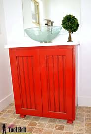 Bathroom Sink Base Cabinet 11 Diy Sink Bases And Cabinets You Can Make Yourself Shelterness