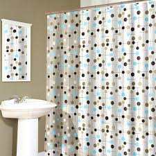Flower Drop Shower Curtain Contemporary Round Circle Shower Curtains Images Bendable Curtain