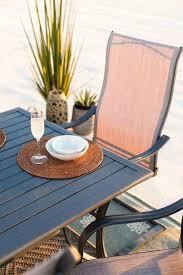 furniture cast aluminum gas fire pit hayneedle patio world source