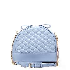 light blue crossbody purse baby blue leather crossbody bags for women quilted lambskin purses