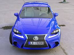 lexus sports car blue lexus is f sport 2016 3d cgtrader