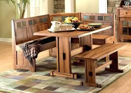 Kitchen Tables With Bench Seating And Chairs by Table Bench Seat U2013 Ammatouch63 Com