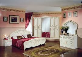 Schlafzimmer Bett 160x200 Schlafzimmer Rozza Mahagoni Klassisch 160x200 Cm Barock Roz Set Mahag