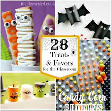 28 halloween treats for the classroom the crafted sparrow