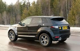 evoque land rover range rover spied testing plug in hybrid evoque autoguide com news