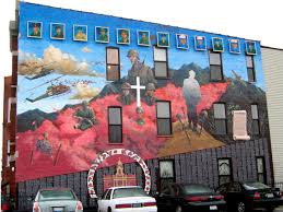 a guide to 51 neighborhood murals you must see right now 33 vietnam fallen soldiers memorial this huge mural
