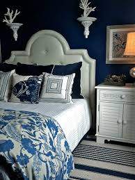 Dark Blue Bedroom by How To Incorporate Indigo Into Your Home Freshome