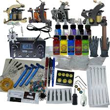 tattoo kit without machine machine apprentice tattoo kit with dual digital power supply 10