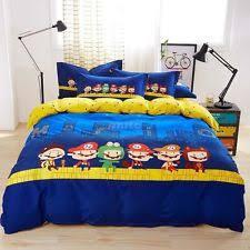Duvet Covers For Queen Bed Mario Bed Set Ebay