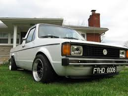 volkswagen pickup slammed vdubcaddy 1982 volkswagen caddy specs photos modification info
