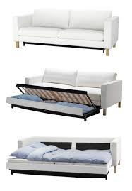 how to choose a sofa bed the karlstad sofa bed has a storage space under the seat for
