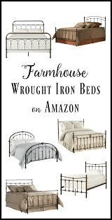 Wrot Iron Bed 10 Amazing Wrought Iron Farmhouse Beds On Amazon Twelve On Main