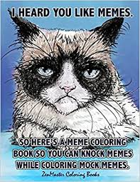 Meme Books - com adult coloring book of memes memes coloring book for