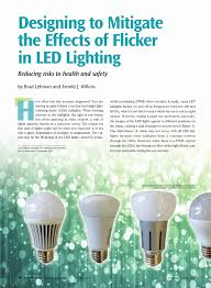 designing to mitigate effects of flicker in led lighting reducing