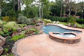 Pretty Backyard Ideas Landscaping Ideas By Nj Custom Pool U0026 Backyard Design Expert