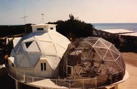 Geodesic Dome House Pilings And Platform Aidomes